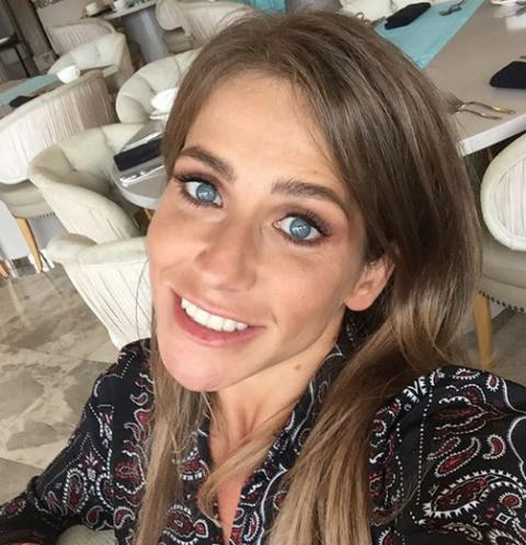 Юлия Барановская отдыхает в Италии