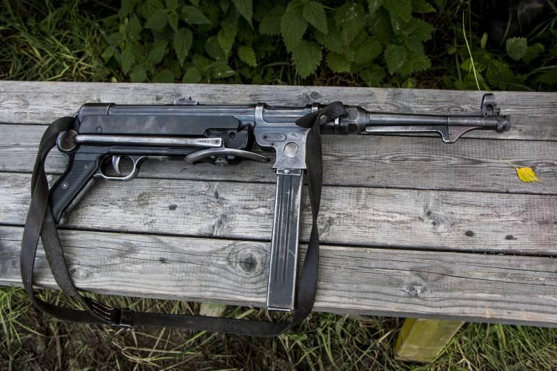 Рассказы об оружии. Пистолет-пулемёт МР38/40