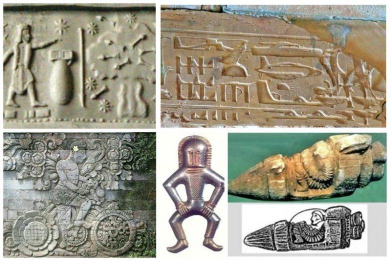 100% - наши предки видели НЛО и предвидели будущее