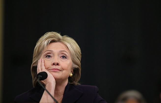 Пауки в банке: Клинтон обвинила Трампа и опять заявила про российский след