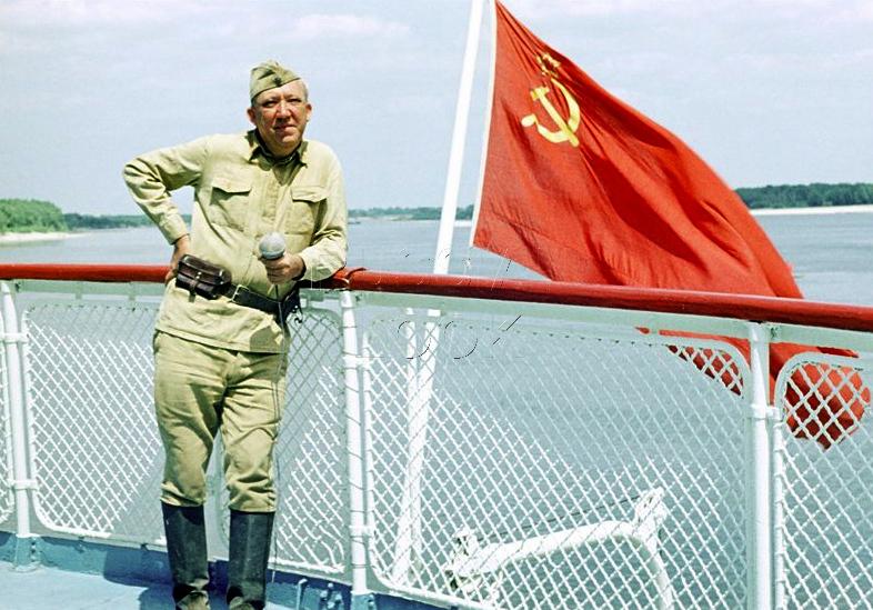 Актеры, воевавшие в Великой Отечественной войне.