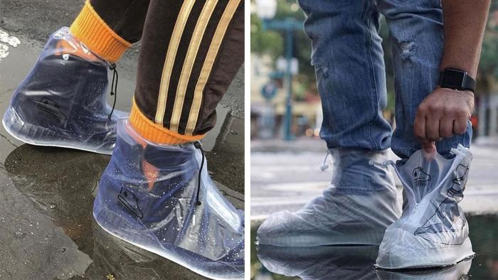 Калоши возвращаются: дождевики-мокроступы, которые поместятся даже в дамскую сумочку