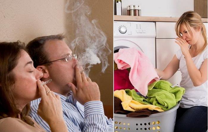 Избавляемся от запаха табака в доме