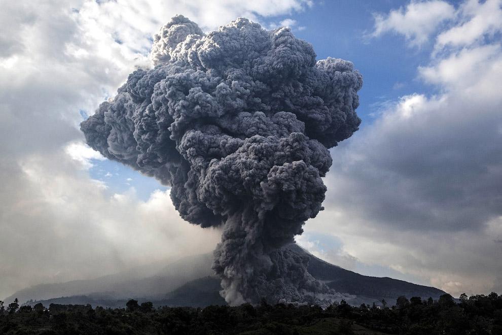 Извержения вулканов в 2014 году вулкан, извержение, природа