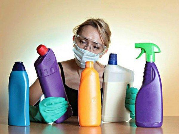 Чистящие средства могут стать причиной тяжелого заболевания