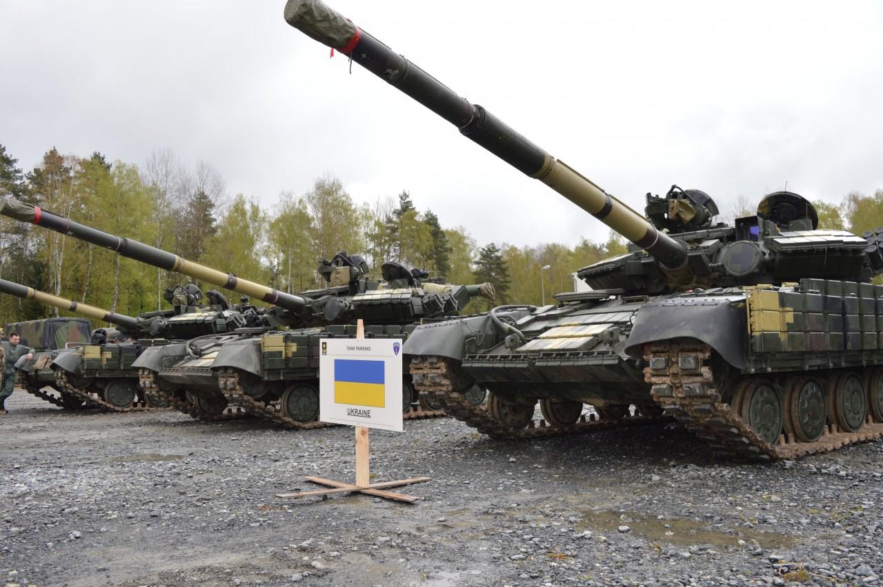 Украинские танки Т-64БВ прибыли в Германию для участия в соревнованиях Strong Europe Tank Challenge