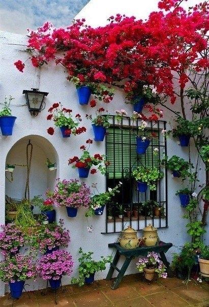 Цветочный фестиваль в Кордова, Испания