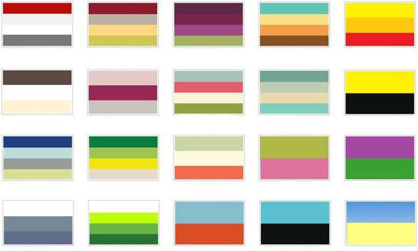 Какой цвет с каким сочетается лучше всего