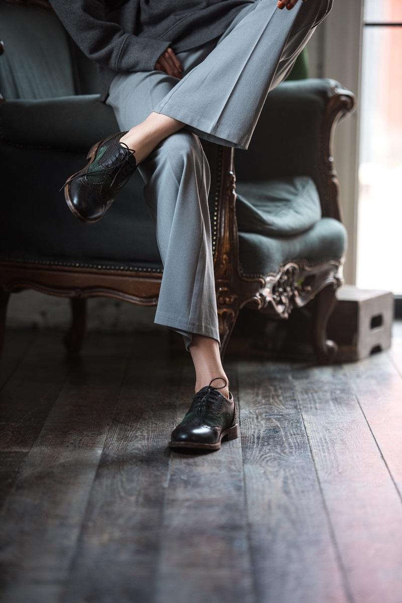 брючный костюм женский