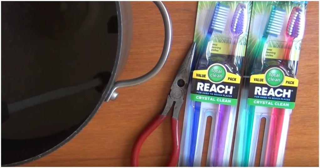 Так зубные щетки вы еще точно не использовали. Крутые самоделки своими руками