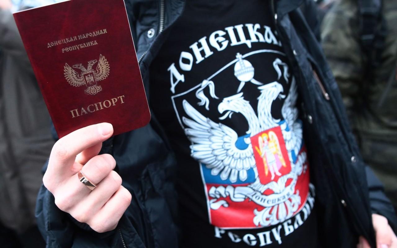 На Украине возник ажиотажный спрос на донецкие паспорта