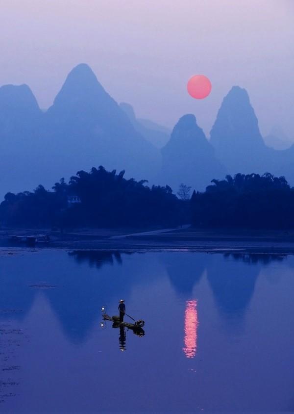 Riverof02 Красивые пейзажи китайской реки поэтов и художников