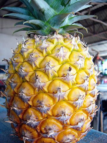 Фаршированный ананас