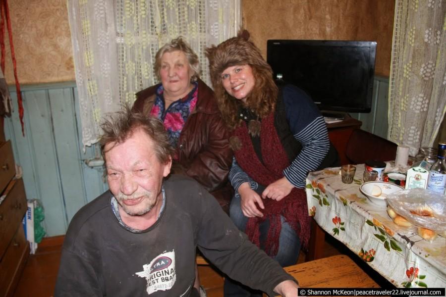 Американка прожила один день в российской глубинке. Её впечатления.