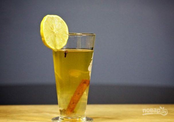 Ромовый чай с ромашкой