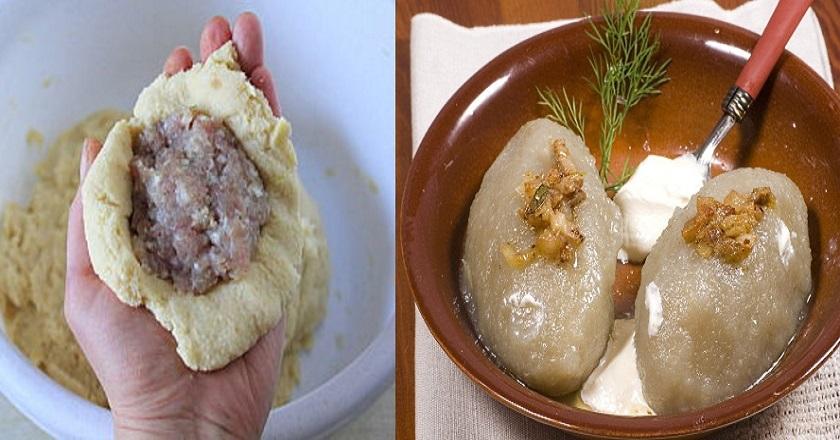 Превосходное блюдо из Прибалтики! Цеппелины по-литовски
