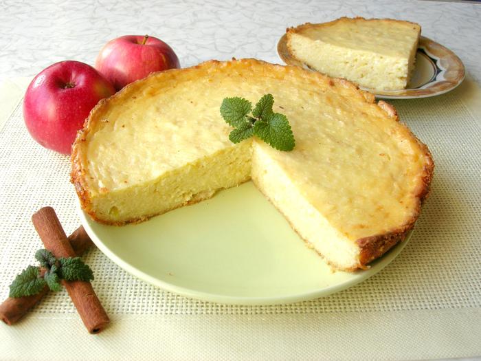 Творожная запеканка с яблоками и без муки Рецепт, Творожная запеканка, Кулинария, Еда, Видео, Творог, Запеканка творожная