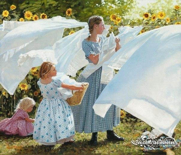 Стирка белых вещей: экологичные секреты чистой одежды