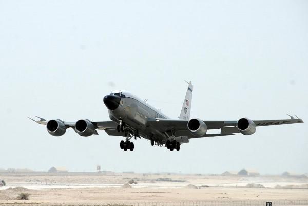 Самолет ВВС США три часа нах…