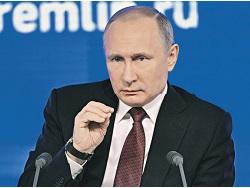 В предвыборном формате. Сегодня Владимир Путин проведет большую пресс-конференцию