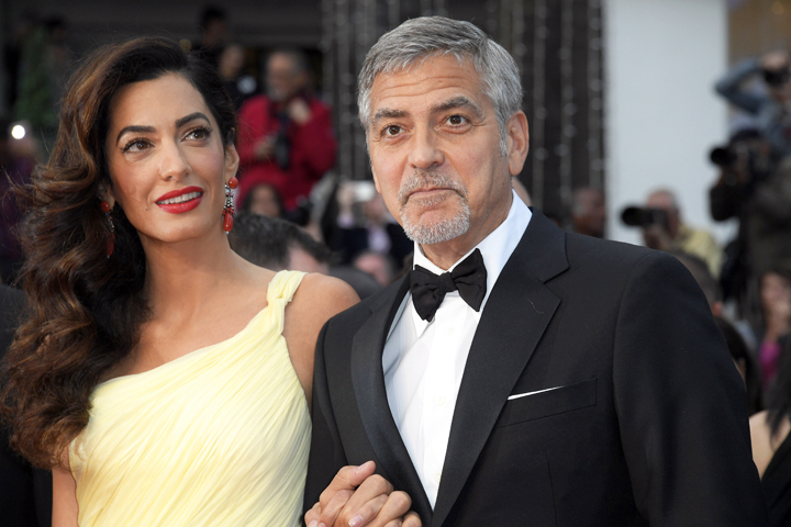 Джордж и Амаль Клуни ждут двойню