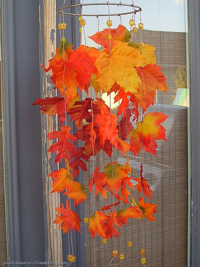 Осенний декор своими руками в детском саду