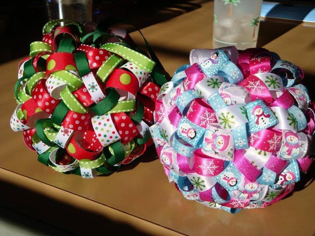 Оригинальный ленточный шарик: элементарная сборка — отменный результат