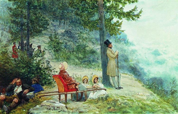 О Николае I и женской любви к цветам