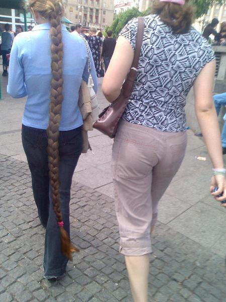 Очень длинная коса 1 фотография
