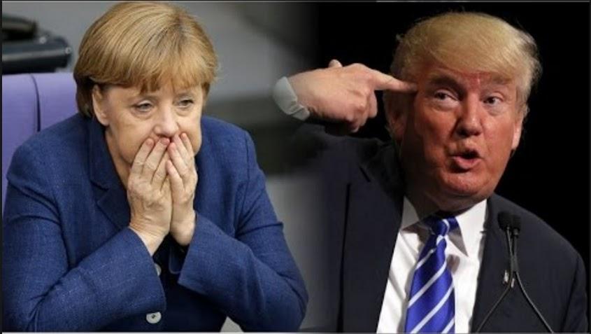 Немцы пишут челобитную Трампу (Страна-бензоколонка атакует)!