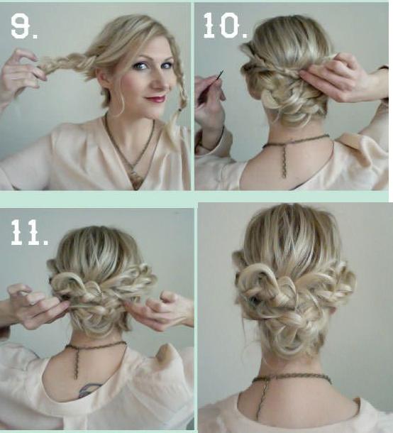 Простые прически на средние волосы - легкие и несложные