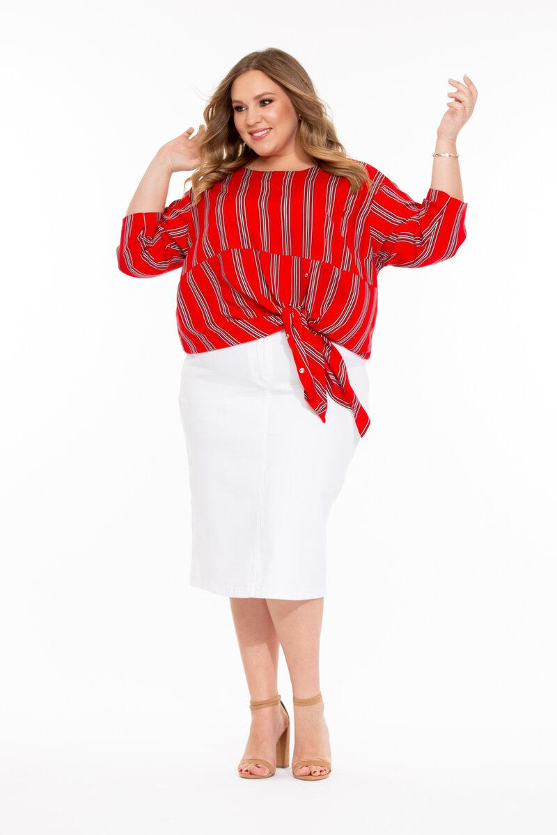 Удлиненные блузы, ниспадающие на бедра