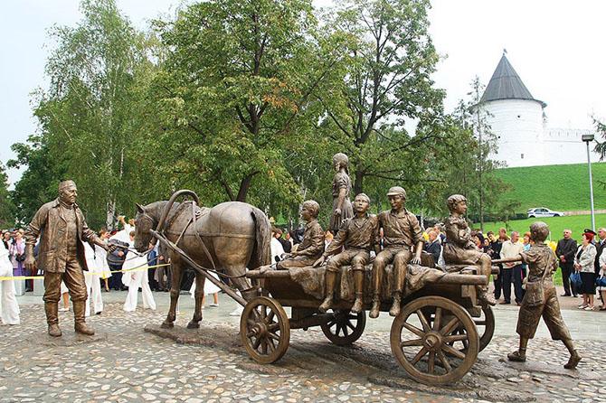 Самые интересные памятники Казани