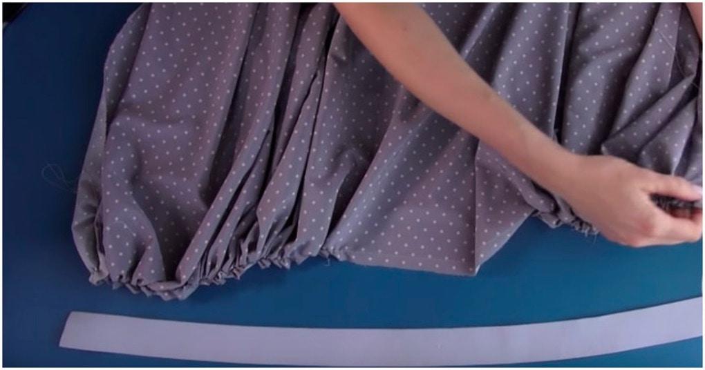 Стильная юбка без выкройки в…