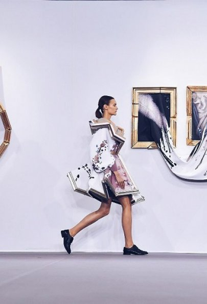 Холст, масло, выкройка: Мода, вдохновлённая живописью