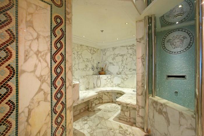 Роскошные мраморные ванны