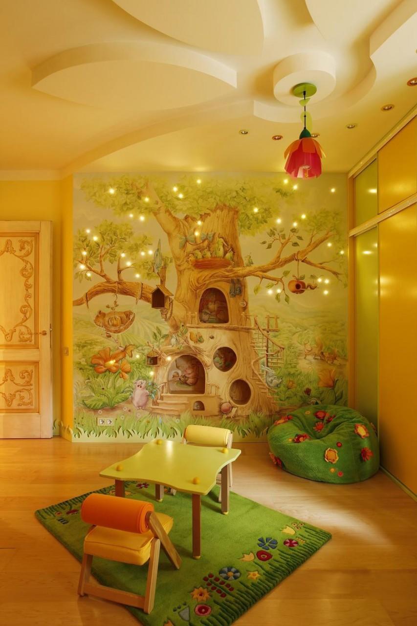 Дизайн детской комнаты, черпаем идеи