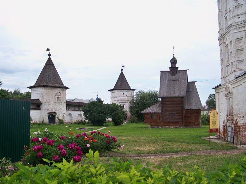 Внутри расположились огороды Города России, владимирская область, красивые места, пейзажи, путешествия, россия