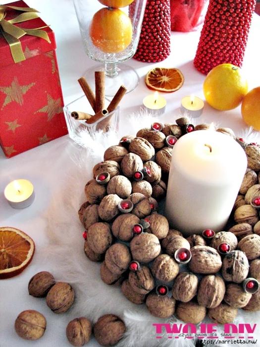 рождественский венок из грецких орехов (9) (525x700, 328Kb)