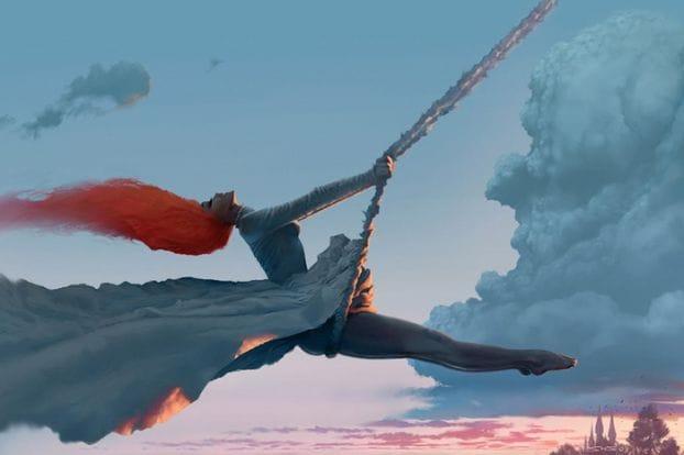 На изображении может находиться: один или несколько человек, океан и небо