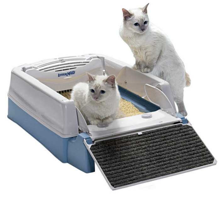Самоочищающийся автоматический лоток для кошек LitterMaid.