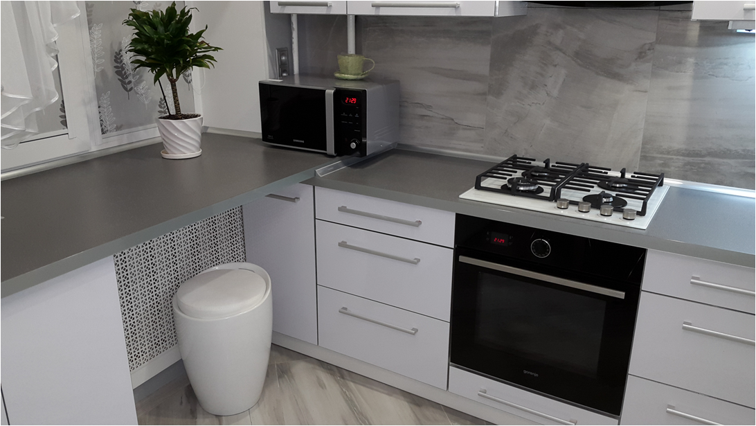 Кухня-мечта: легкость, воздушность, элегантность