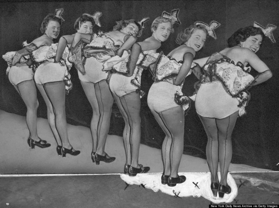 burlesque21 Краткая, но потрясающая история бурлеска в 1950 х годах