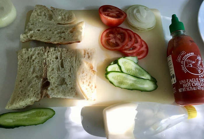 Бутерброд с армянским акцентом Рецепт, Длиннопост, Бутерброд, Фарш, Свинина, Говядина