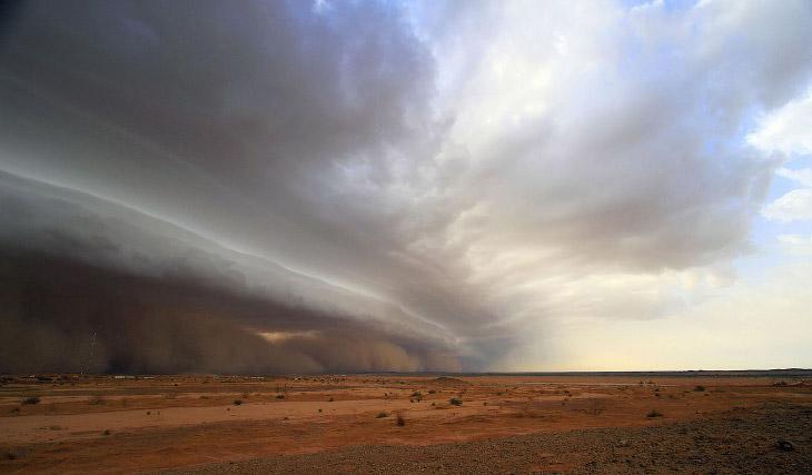 Странная красота песчаных бурь