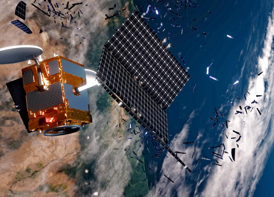 Космическое кладбище — куда деваются списанные спутники