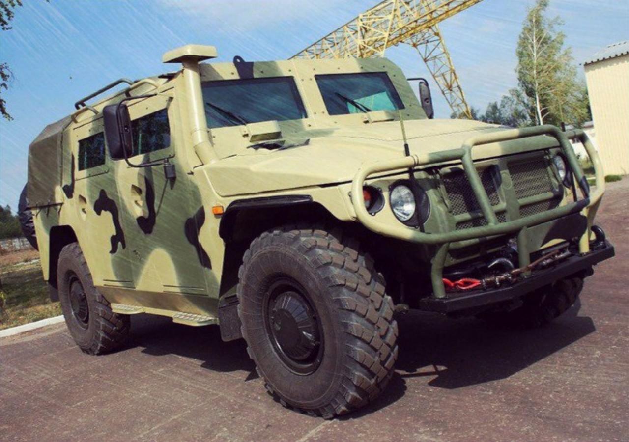 Россия выпустила лучшие в мире военные автомобили