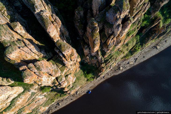 Путешествие по каменному лесу Якутии