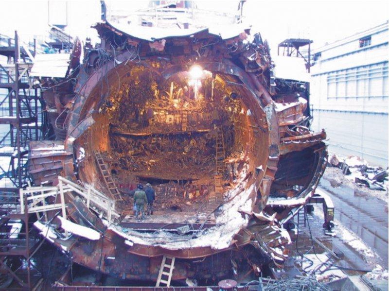 атомные реакторы подводных лодок фото