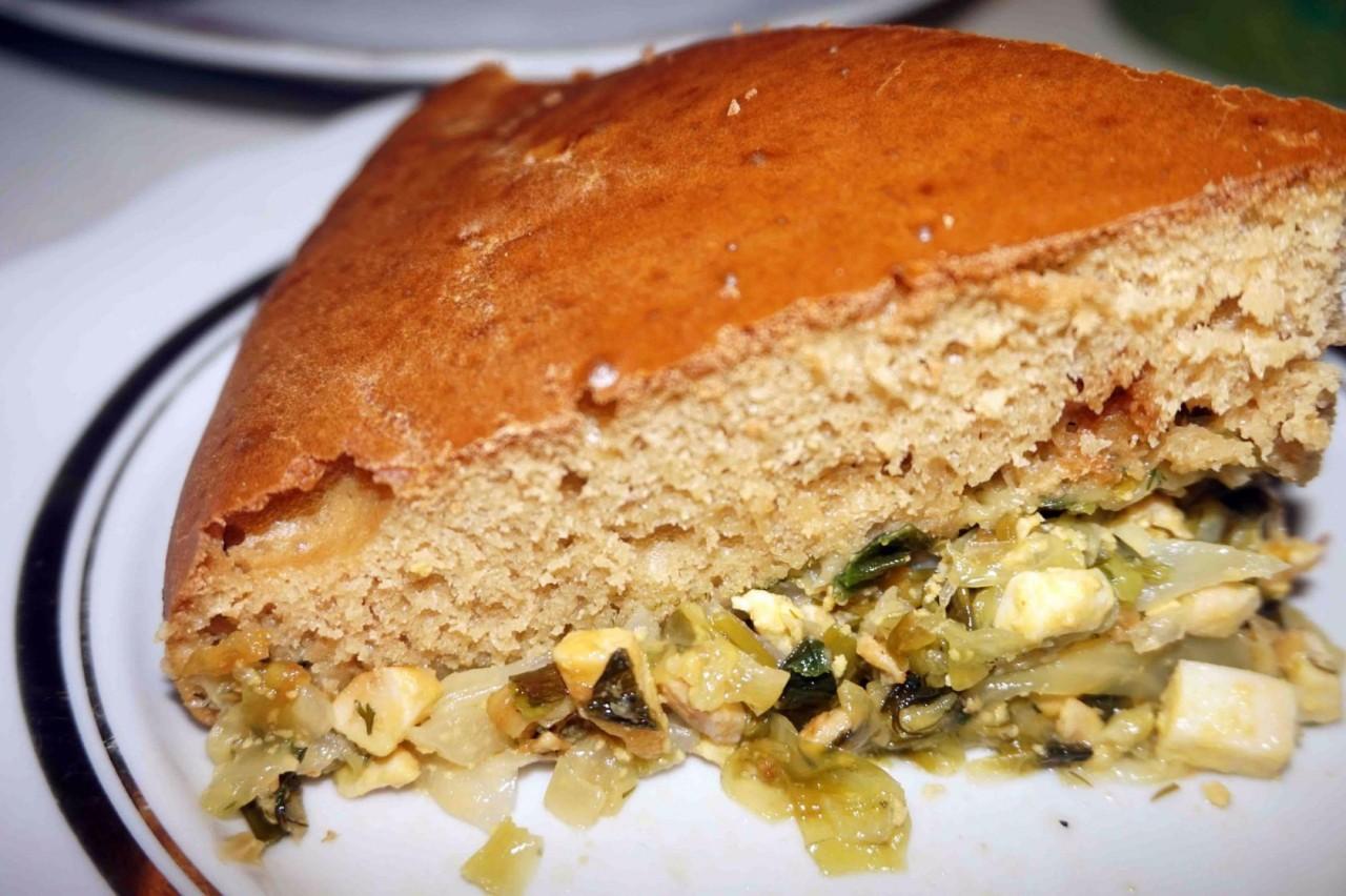 ПОХВАСТУШКИ: Заливной пирог с капустой